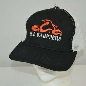 OC Choppers Black/White Baseball Cap Snap Back